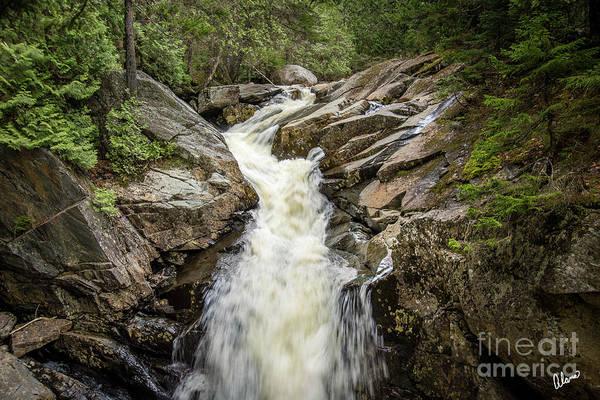 Photograph - Waterfall Rangeley II by Alana Ranney