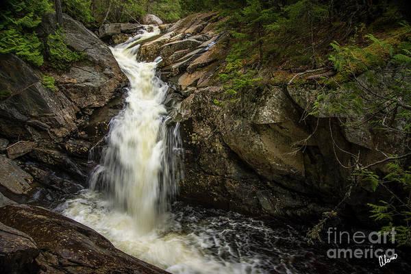 Photograph - Waterfall Rangeley IIi by Alana Ranney