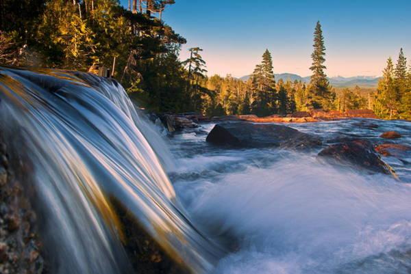 Ketchikan Photograph - Waterfall Reflections by Carlos Rojas