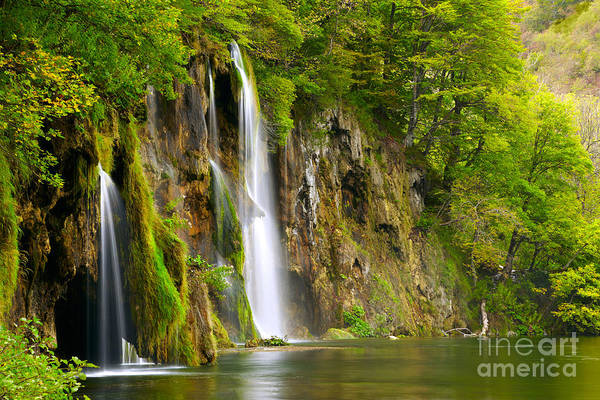 Cascade Mountains Wall Art - Photograph - Waterfall by Sj Travel Photo And Video