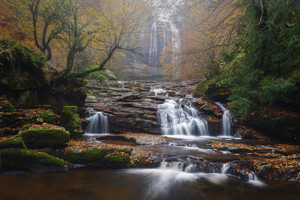 Photograph - Waterfall by Suleyman Derekoy