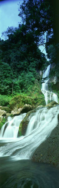 Photograph - Waterfall, West Sumatra by Peter Adams