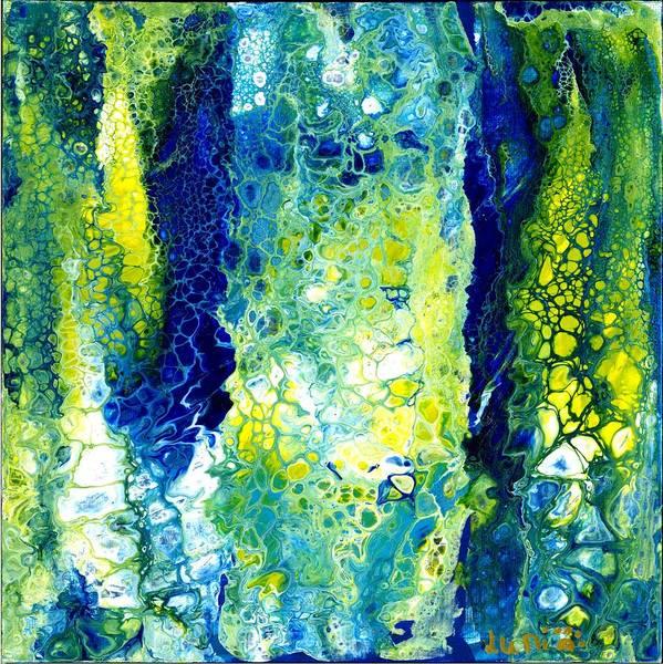 Painting - Waterfalls by Angelika GAIGL