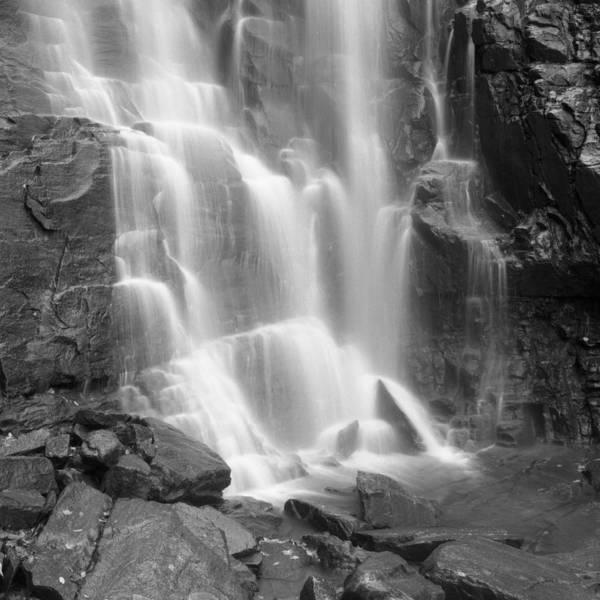 North Carolina Waterfalls Photograph - Waterfalls At Chimney Rock State Park by Holden Richards