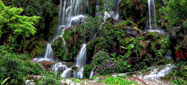 Photograph - Waterfalls At Seven Star Park by Rick Lawler