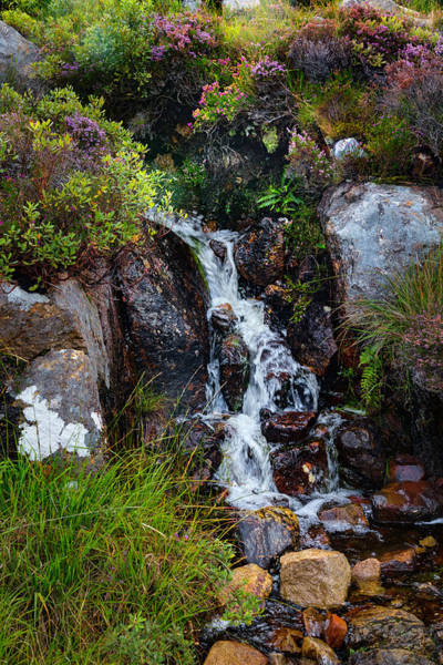 Photograph - Waterfalls In The Scottish Highlands by Debra and Dave Vanderlaan