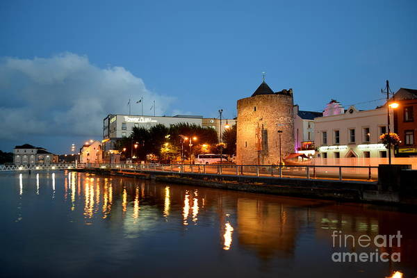 Suir Photograph - Waterford City Reflections by Joe Cashin