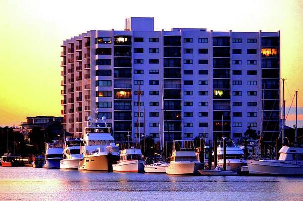 Photograph - Waterfront Condos by Cynthia Guinn