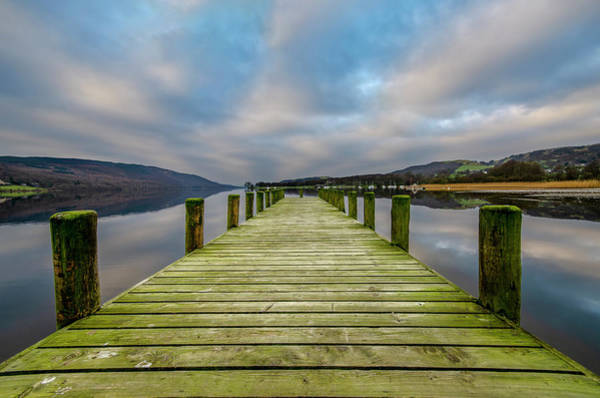 Wall Art - Mixed Media - Waterhead Pier by Smart Aviation