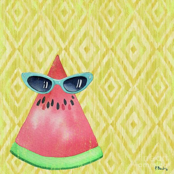 Melon Painting - Watermelon Shades by Paul Brent