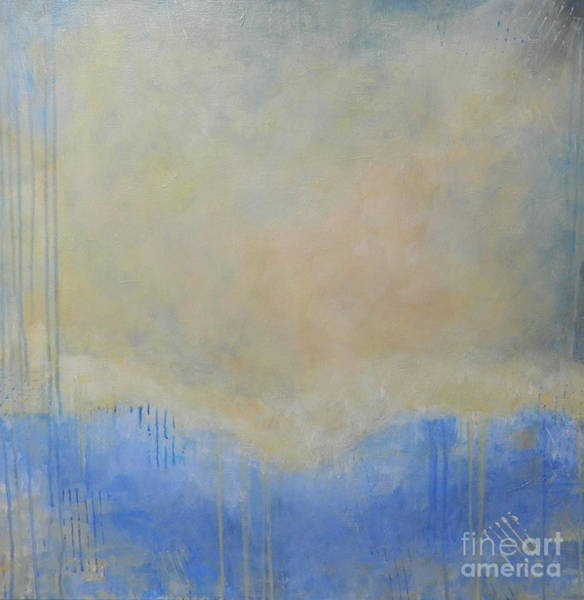 Wall Art - Painting - Water's Edge by Kate Marion Lapierre