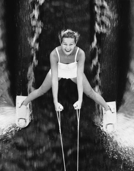 1961 Photograph - Watersport by Keystone Features