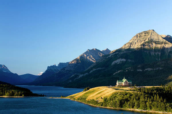 Canadian Culture Photograph - Waterton Lakes National Park by Laughingmango