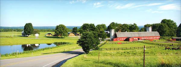 Wall Art - Photograph - Waterwheel Farm by Marilyn De Block