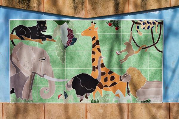 Photograph - Watkin Park Africa Mural by Paul Rebmann