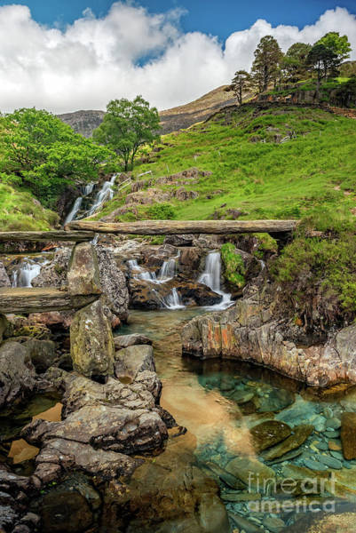 Wall Art - Photograph - Watkin Path Bridge Wales by Adrian Evans