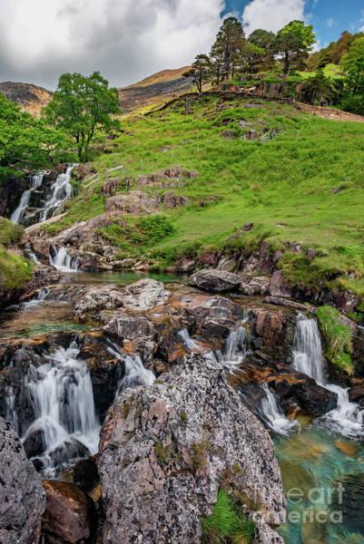 Photograph - Watkin Waterfall Snowdonia by Adrian Evans