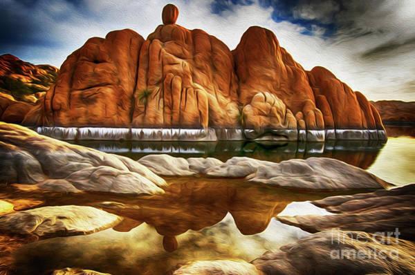 Wall Art - Photograph - Watson Lake Arizona 33 by Bob Christopher