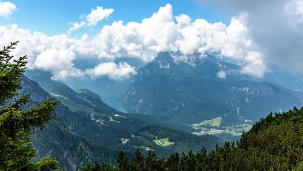 Photograph - Watzmann And Koenigssee, Bavaria by Andreas Levi