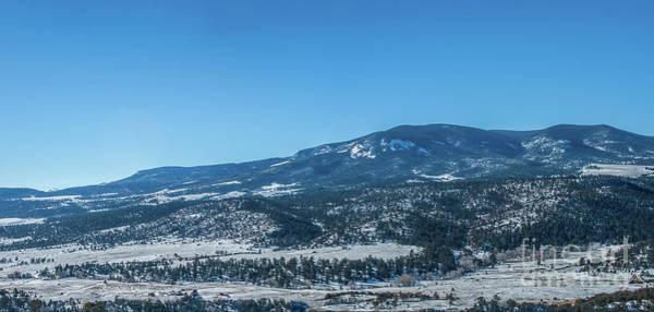 Photograph - Waugh Mountain - Winter by Tony Baca