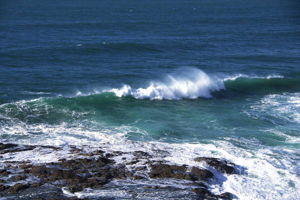 Wall Art - Photograph - Wave And Wind by Jeff Swan