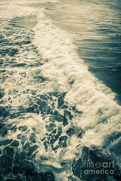 Photograph - Wave Crystal Pier Pacific Beach San Diego by Edward Fielding