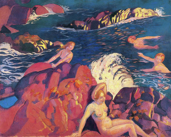 Wall Art - Painting - Wave - Digital Remastered Edition by Maurice Denis