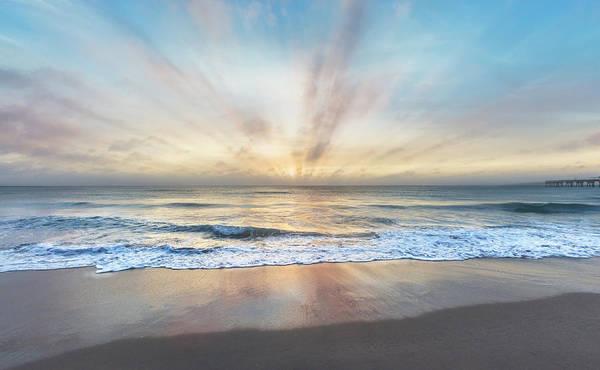Photograph - Wave Light by Debra and Dave Vanderlaan