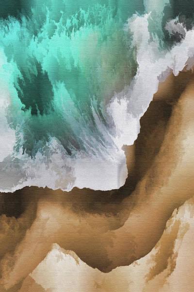 Wall Art - Painting - Wave Of Ocean  by Art Spectrum