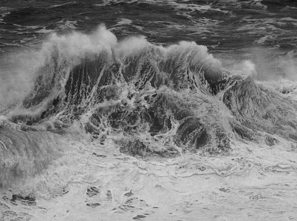 Photograph - Wave Party by Bill Posner