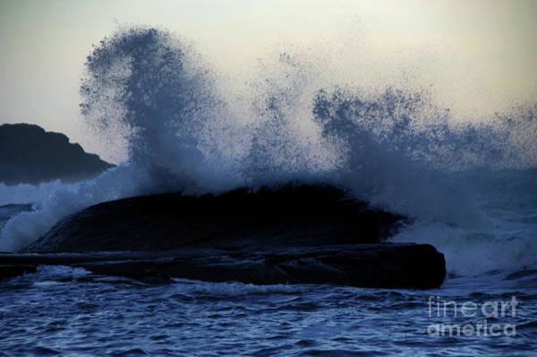 Wall Art - Photograph - Wave Splatter by Jeff Swan