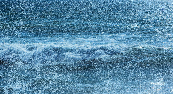 Wall Art - Photograph - Waves And Sea Spray by Ken Welsh