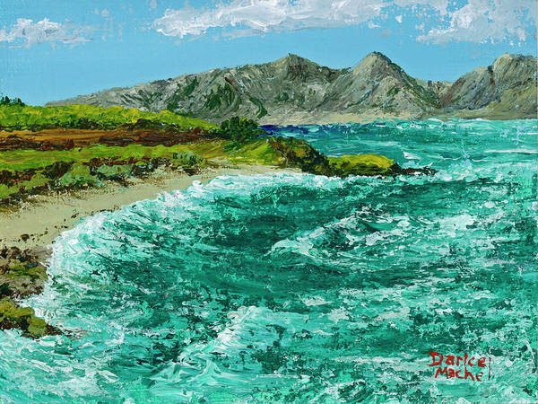 Painting - Waves At Hookipa by Darice Machel McGuire