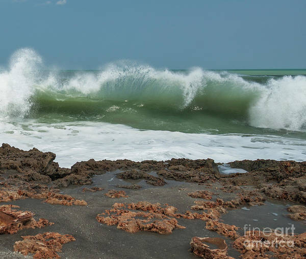Photograph - Waves At Work by Michelle Constantine