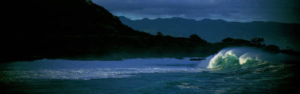 Wall Art - Photograph - Waves In The Pacific Ocean, Waimea Bay by Panoramic Images