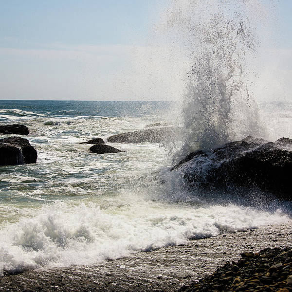 Waves Art Print by Lona Photography