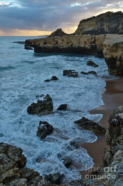 Photograph - Waves Near Aveiros Beach During Sunset by Angelo DeVal