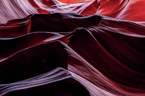 Photograph - Waves Of Antelope Canyon Rock Formations by Gregory Ballos