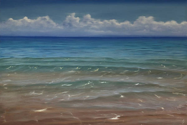 Painting - Waves Of Clarity by Eva Volf