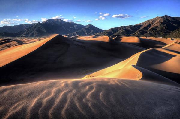 Wall Art - Photograph - Waves Of Dunes by David Ross
