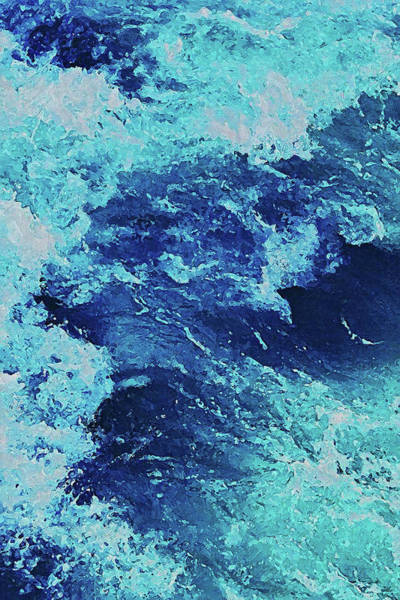 Painting - Waves Of Summer - 02 by Andrea Mazzocchetti