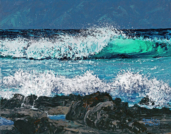 Painting - Waves On Napili Bay by Darice Machel McGuire