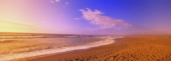 Wall Art - Photograph - Waves On The Beach, North Beach, Point by Panoramic Images