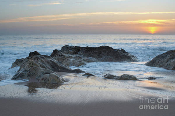 Photograph - Waves, Rocks And Sunset In Salgados by Angelo DeVal