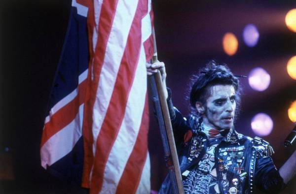 Alice Cooper Photograph - Waving The Flag by Keystone
