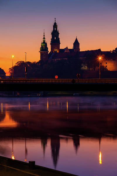 Wall Art - Photograph - Wawel Castle And Cathedral In Krakow At Dawn by Artur Bogacki