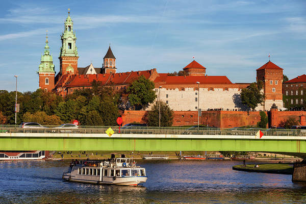 Wall Art - Photograph - Wawel Castle At Vistula River In Poland by Artur Bogacki