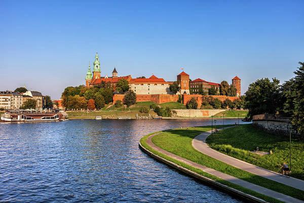 Wall Art - Photograph - Wawel Royal Castle At Vistula River In Krakow by Artur Bogacki