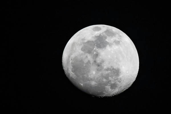 Photograph - Waxing Gibbous by Thomas Kallmeyer