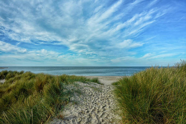 Waters Edge Wall Art - Photograph - Way To The Beach by Joachim G Pinkawa